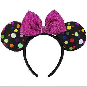 """Disney """"Rock the Dots"""" Mickey Ear Headband"""